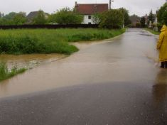 Záplavy  Malinec 2013