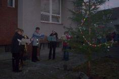 Rozsvícení vánočního stromku 2006